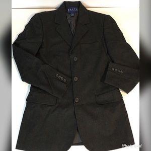 Boys Ralph Lauren 8 Blazer Gray Wool/Cashmere
